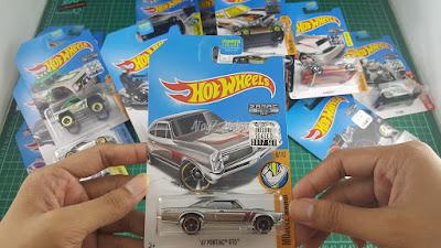 Hot Wheels Zamac Edition 67 pontiac gto