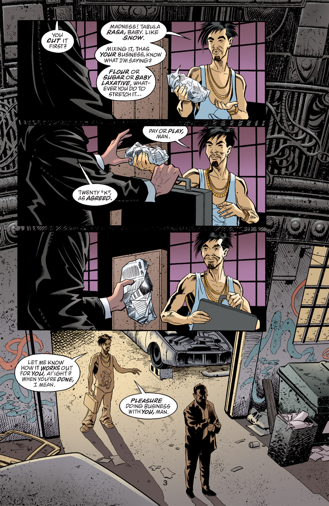 Detective Comics (1937) 768 Page 3
