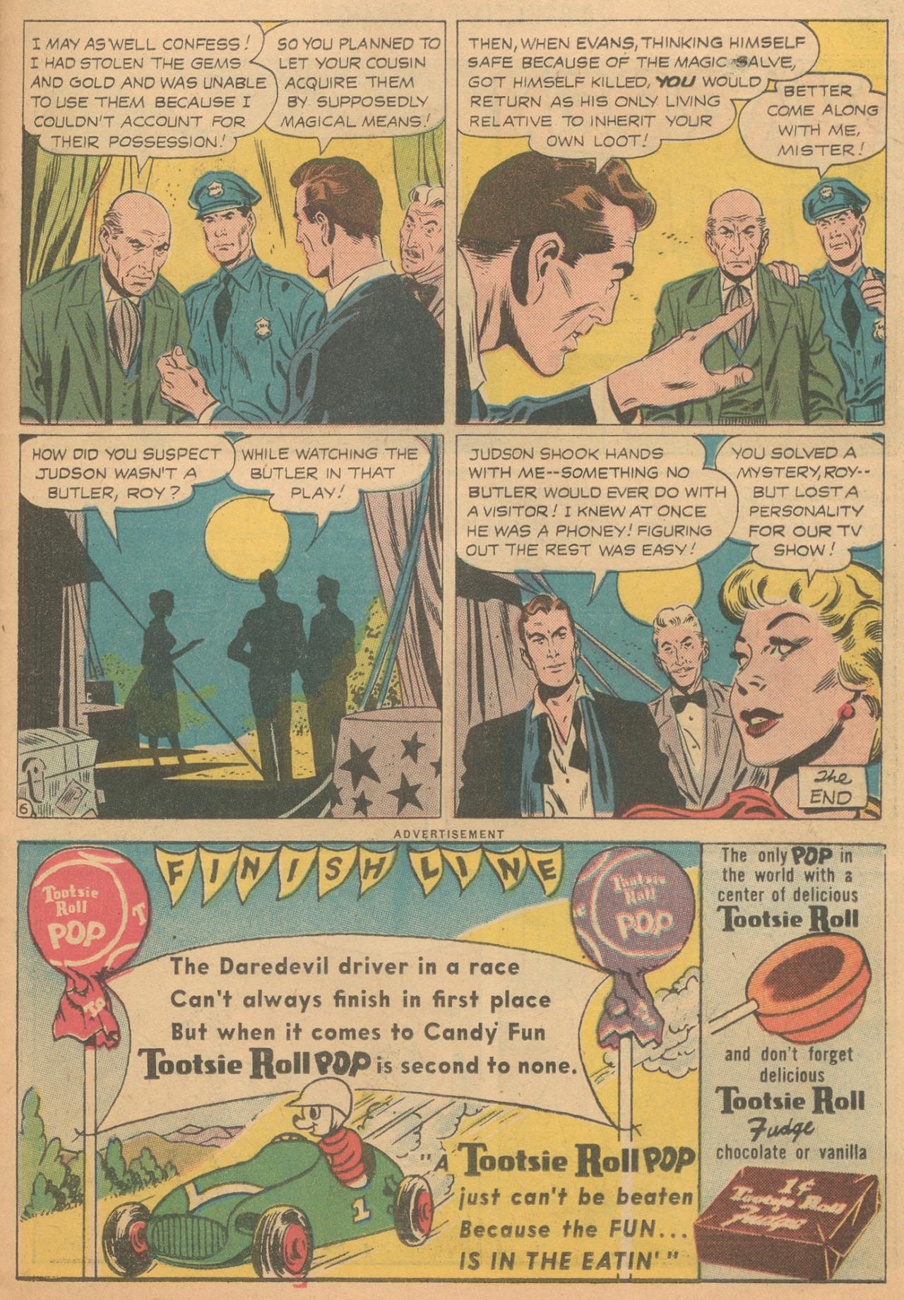Read online Detective Comics (1937) comic -  Issue #261 - 23