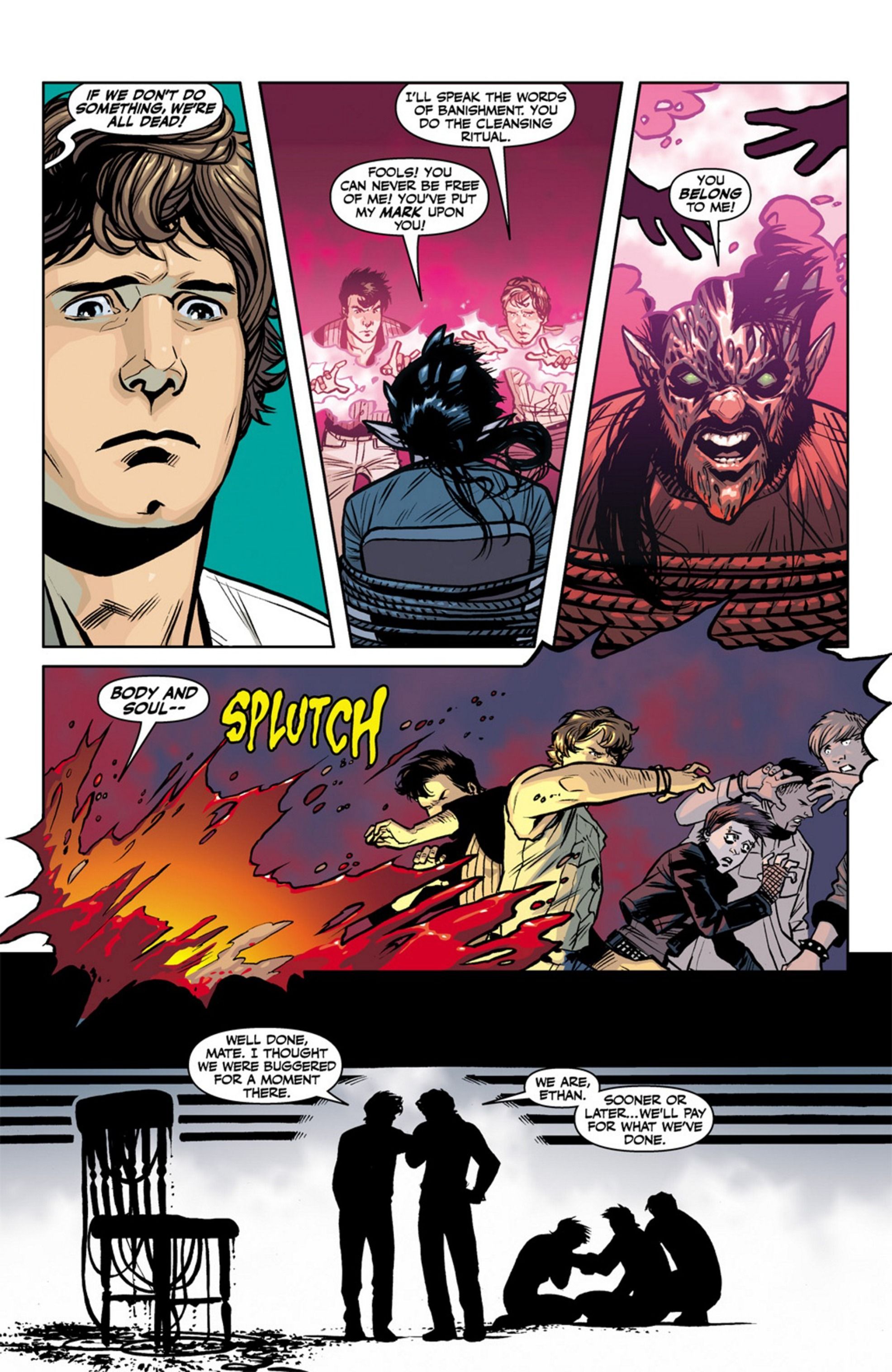 Read online Angel and Faith comic -  Issue #17 - 23