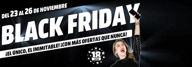 Top 25 ofertas Black Friday 2017 Media Markt