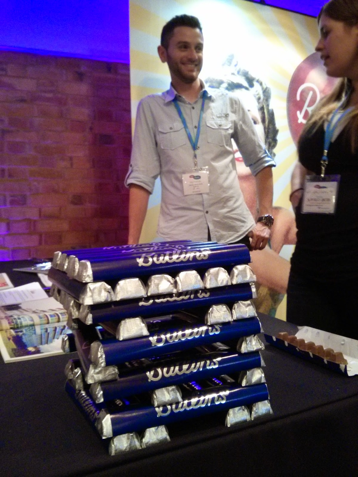 James Butlins Chocolate Jenga