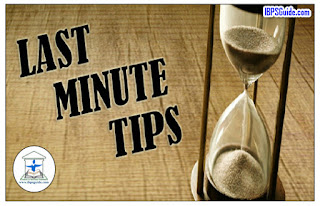 Last Minute Tips for Bank of Baroda  Probationary Officer (PGCBF) 2017: