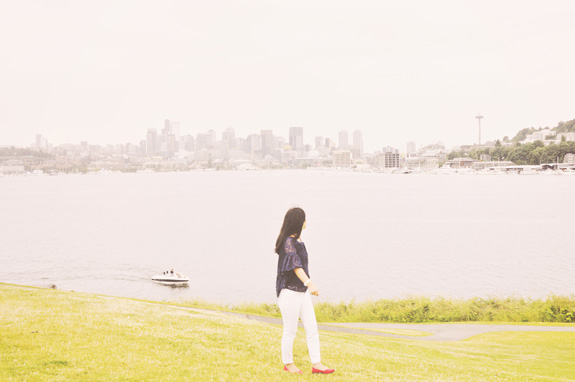 most instagrammable places in seattle gas works park