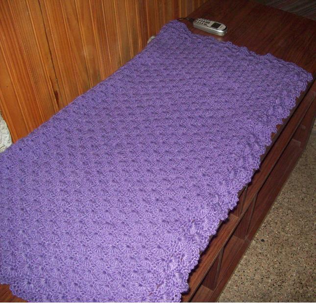 Curso de tejido a mano rebozo o manta para beb - Como hacer una manta de lana para el sofa ...