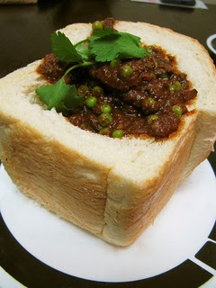Vegetarian Bunny Chow