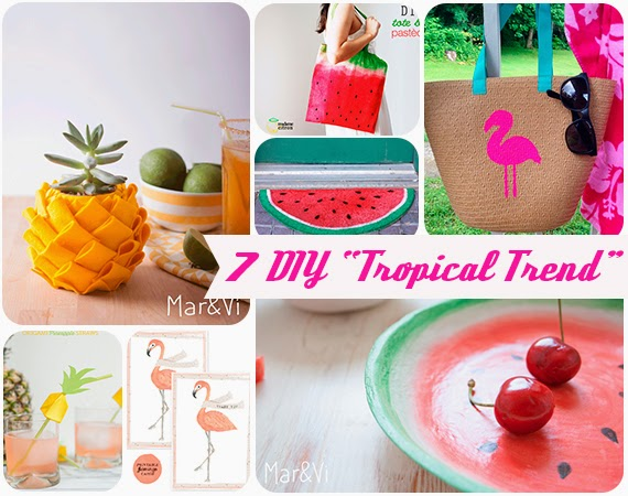 DIY Tropical Trend