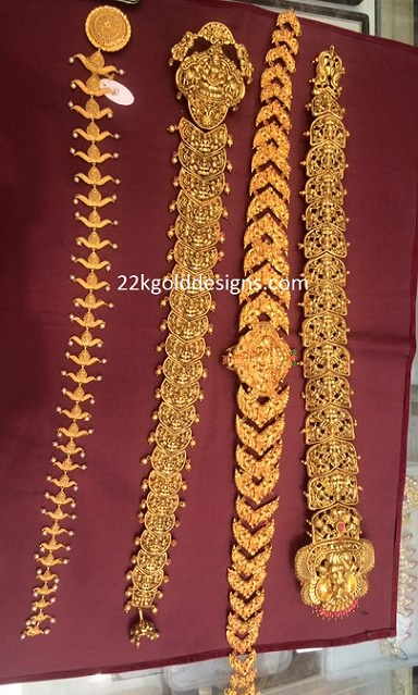 Different Gold Jada Designs