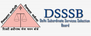 dsssb online vacancy 2017 notification Job in Delhi post 1074