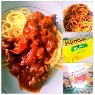 Resepi Spaghetti Bolognese Simple Prego