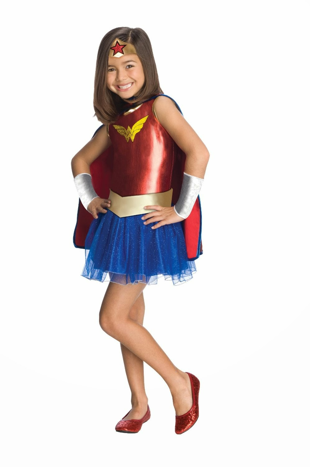 Cute Wonder Woman Costume for Girls