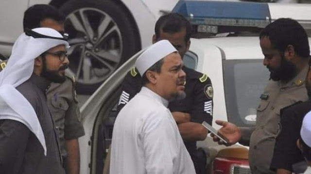 6 Fakta Terbaru Penangkapan Habib Rizieq di Arab Saudi Soal Pemasangan Bendera HTI