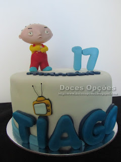 Family Guy birthday cake