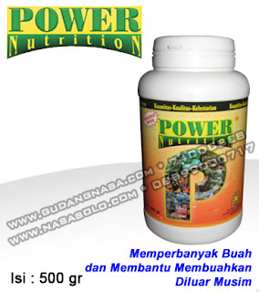 POWER NUTRITION NASA 500GRAM Rp.125.000,-