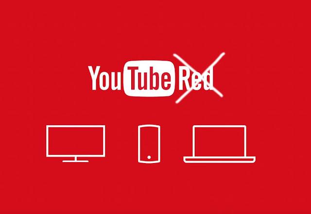 youtube red sera reemplazado por youtube premium