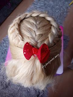 warkocze do szkoły-warkocze do przedszkola-fryzura dla dziewczynek