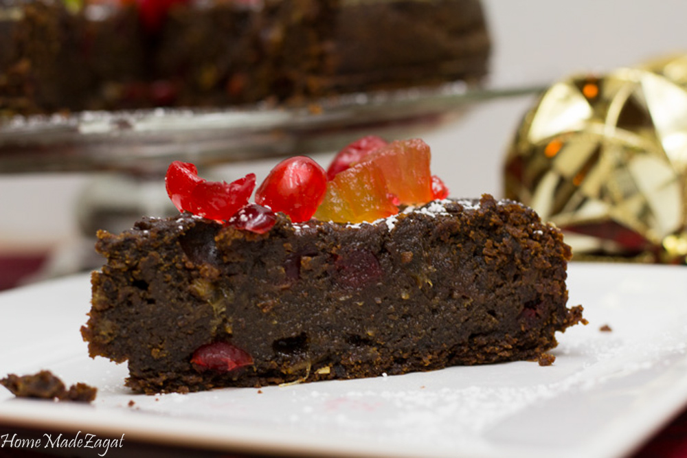 Black Fruit Cake Recipe Trinidad