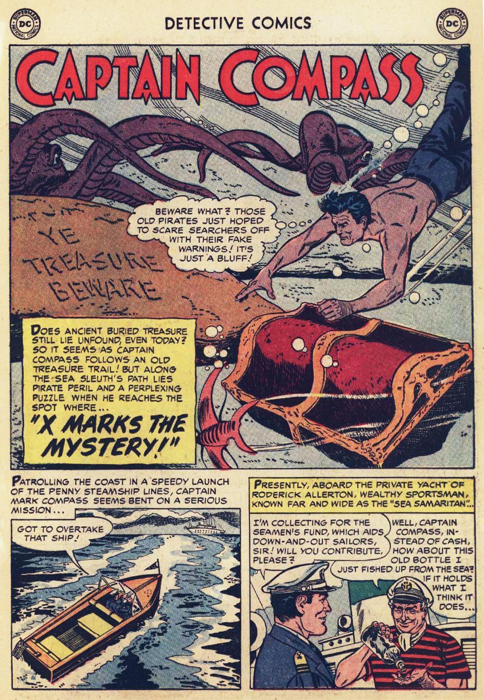 Read online Detective Comics (1937) comic -  Issue #215 - 15
