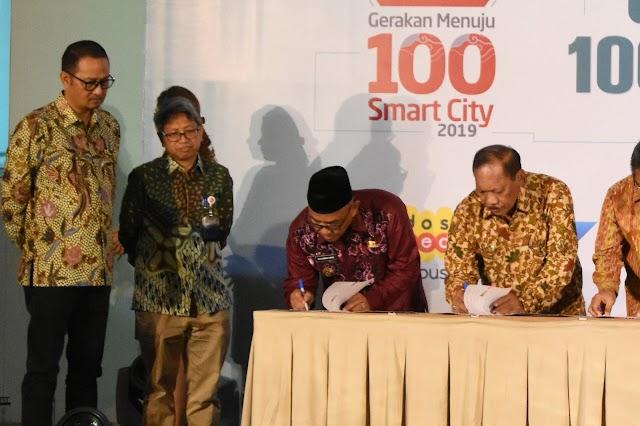 Kota Depok Masuk Seleksi Gerakan 100 Smart City