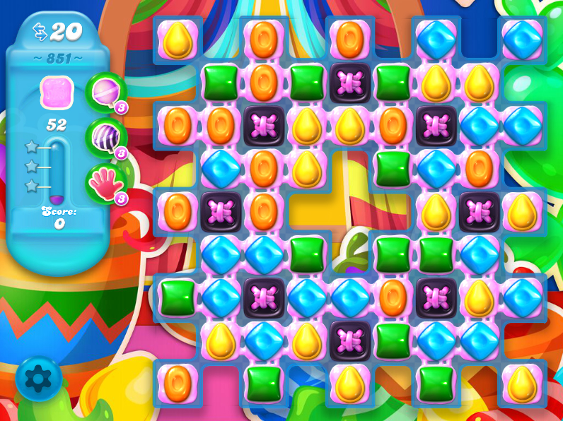 Candy Crush Soda Saga 851