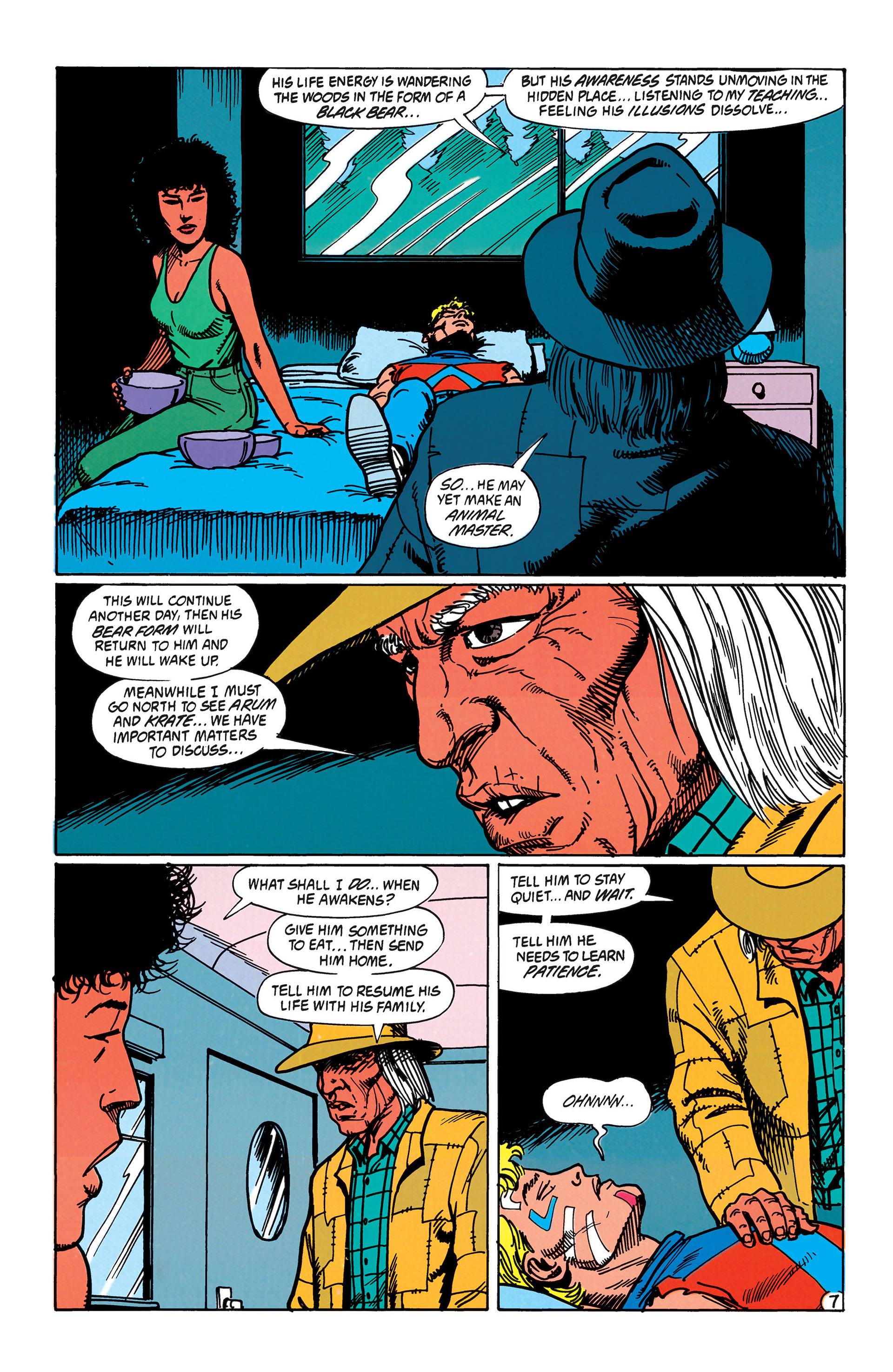 Read online Animal Man (1988) comic -  Issue #43 - 8