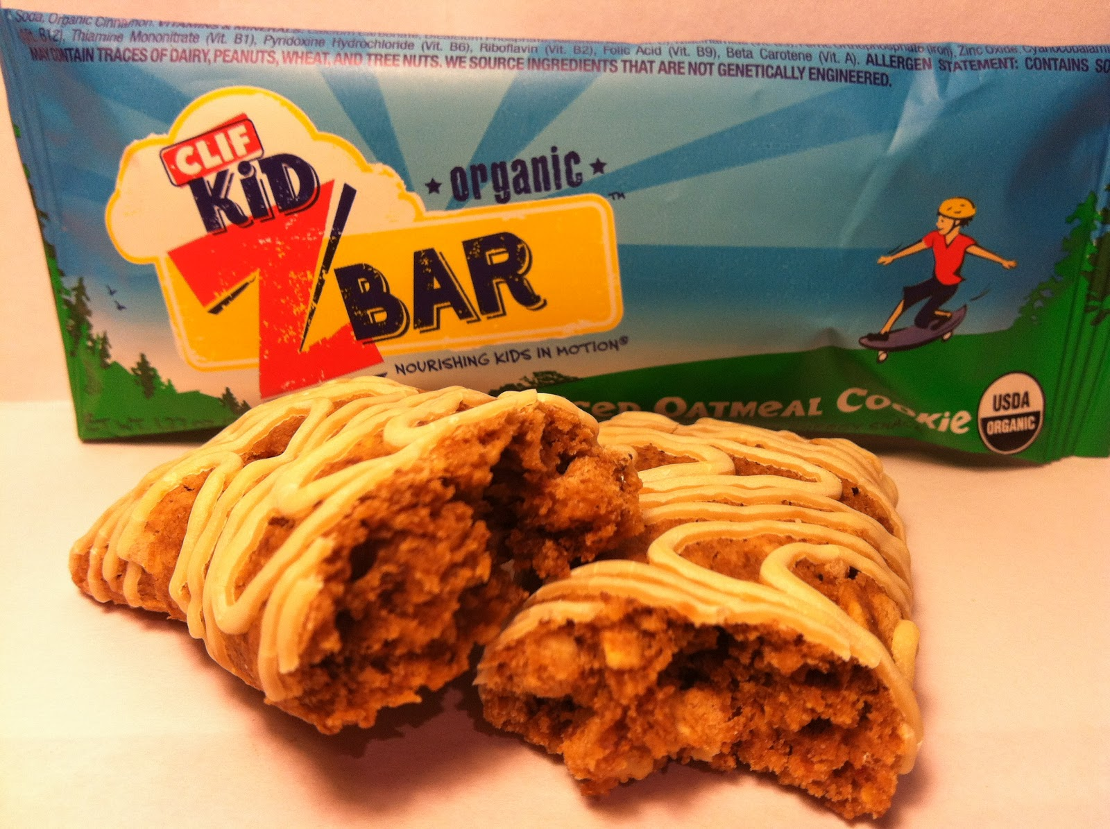 Review: CLIF Kid Z Bar Iced Oatmeal     - Crazy Food Dude
