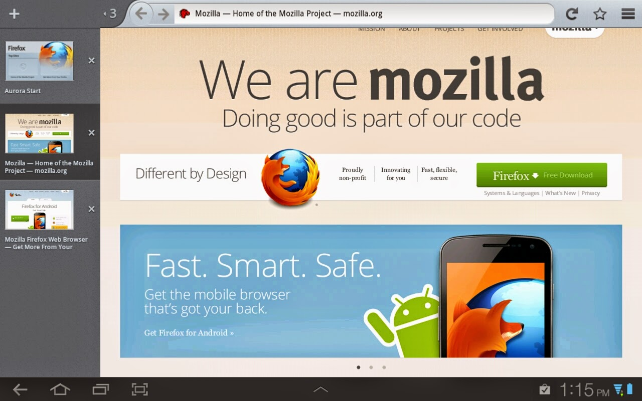 Firefox gratis para android