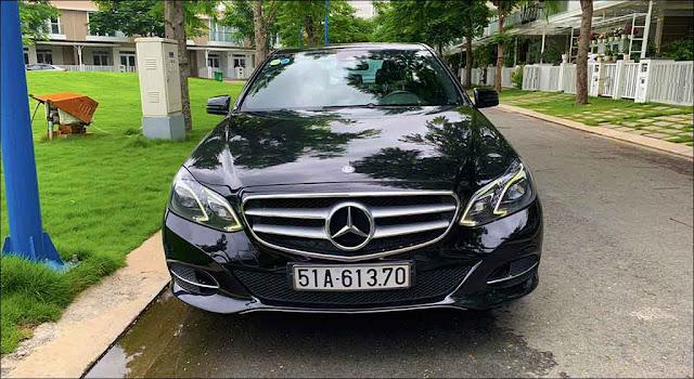 Mercedes E250 2013 đã qua sử dụng màu Đen nội thất màu Nâu