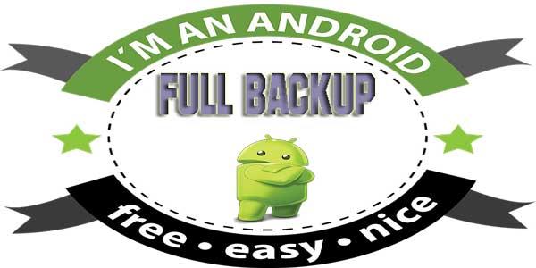 full backup perangkat android ke pc