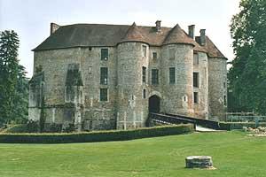 harcourt chateau féodal