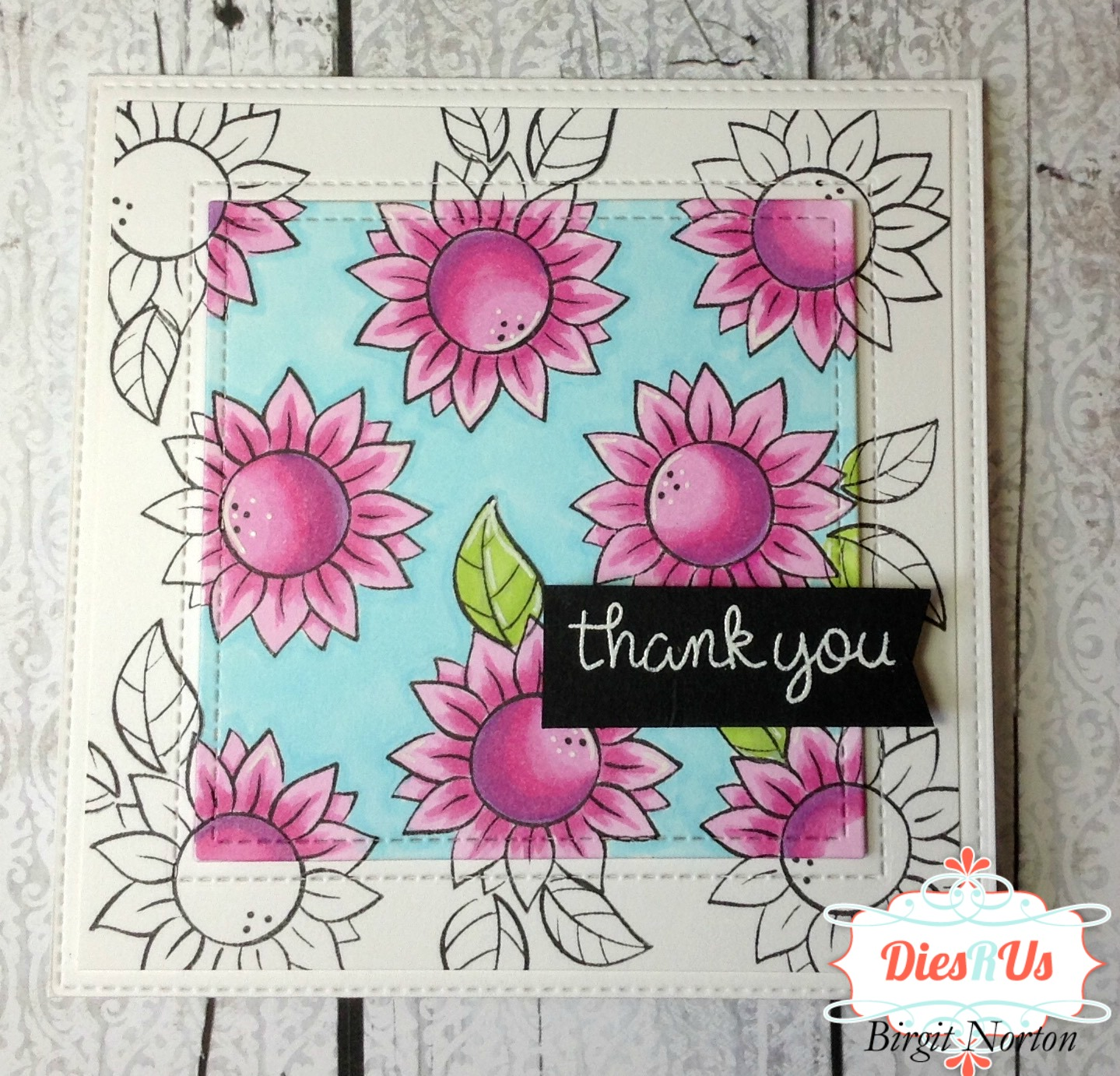Dies R Us: Focal Point Coloring with Lawn Fawn