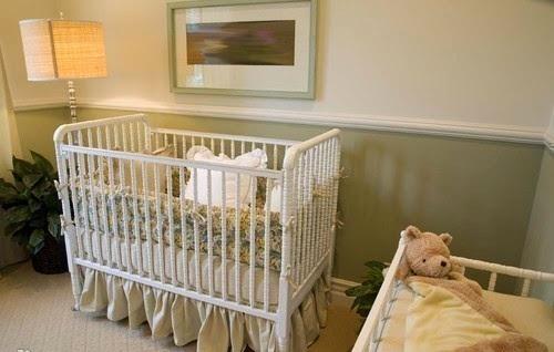 habitación bebé natural