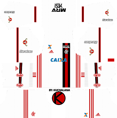 Flamengo 2017/18 - Dream League Soccer Kits and FTS15