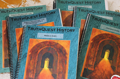The Truth about TruthQuest History {a wonderful living literature resource from Rainbowresource.com}