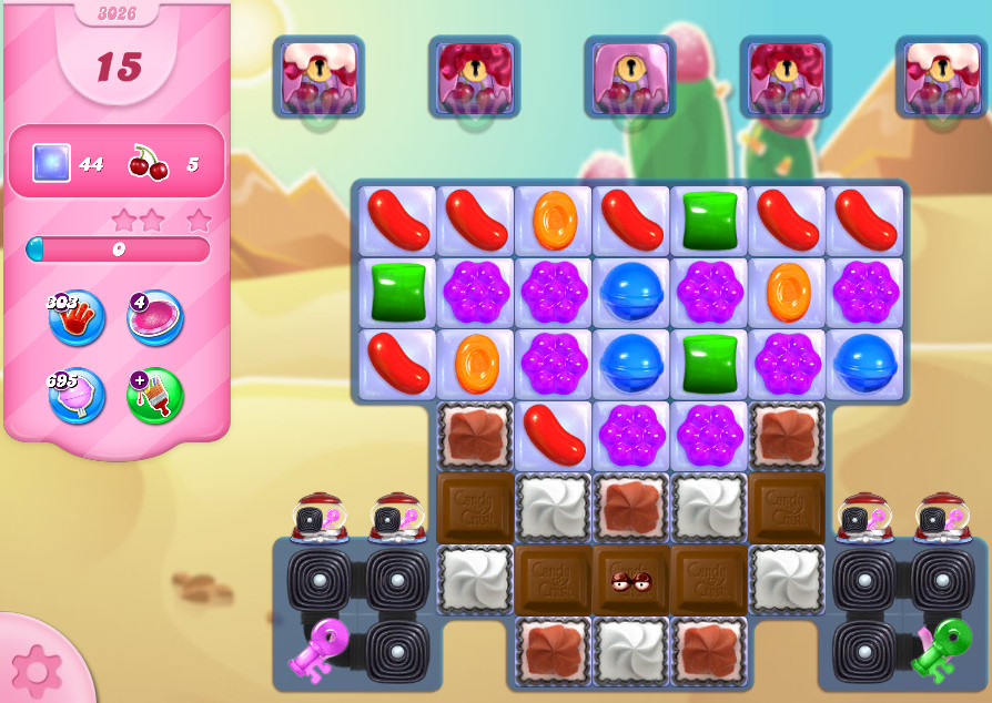 Candy Crush Saga level 3026