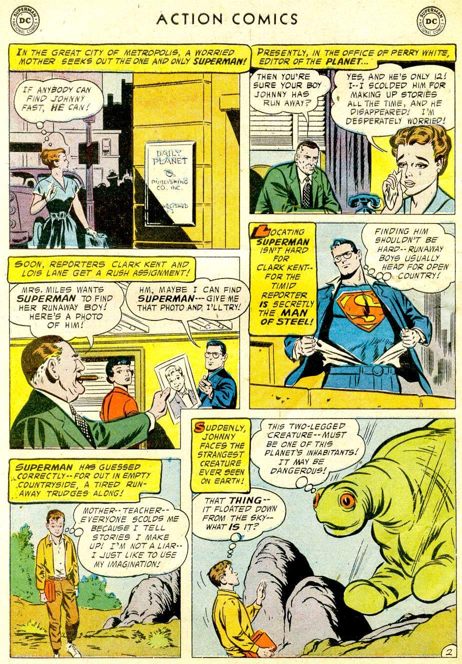 Read online Action Comics (1938) comic -  Issue #234 - 4