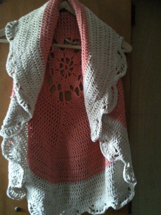 atrevidatejidos: Chaleco Ossira tejido en redondo a crochet