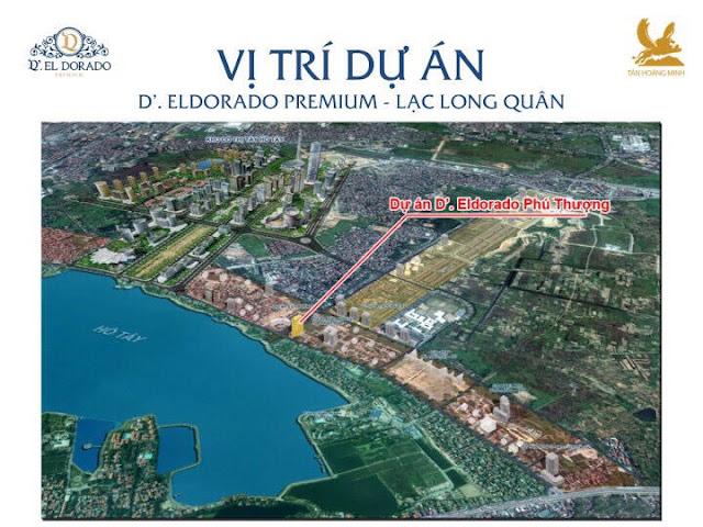 chung cư D'el Dorado Premium Phú Thượng Tây Hồ