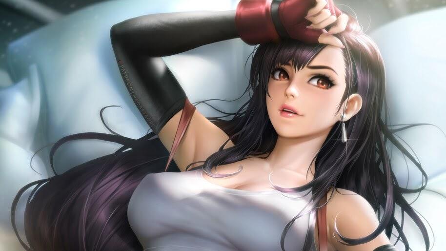 Tifa Lockhart Final Fantasy 7 Remake 4k Wallpaper 5 17