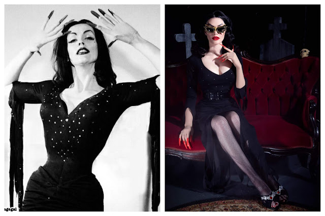Vampira-la-femme-en-noir-glamour-ghoul-dress
