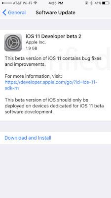 iOS%2B11 Apple Releases iOS 11 Beta 2 [Download] Apps iPhone Jailbreak