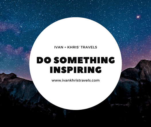 Do something that will inspire you to write