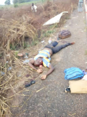 , others killed in fatal accident along Benin-Agbor road (photos)