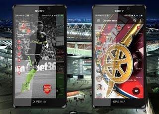 Download BBM Mod Arsenal New Versi Terbaru 3.3.1.21 for Android