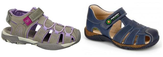 sandalias, sandalias de niño, sandalias cerradas, compras,