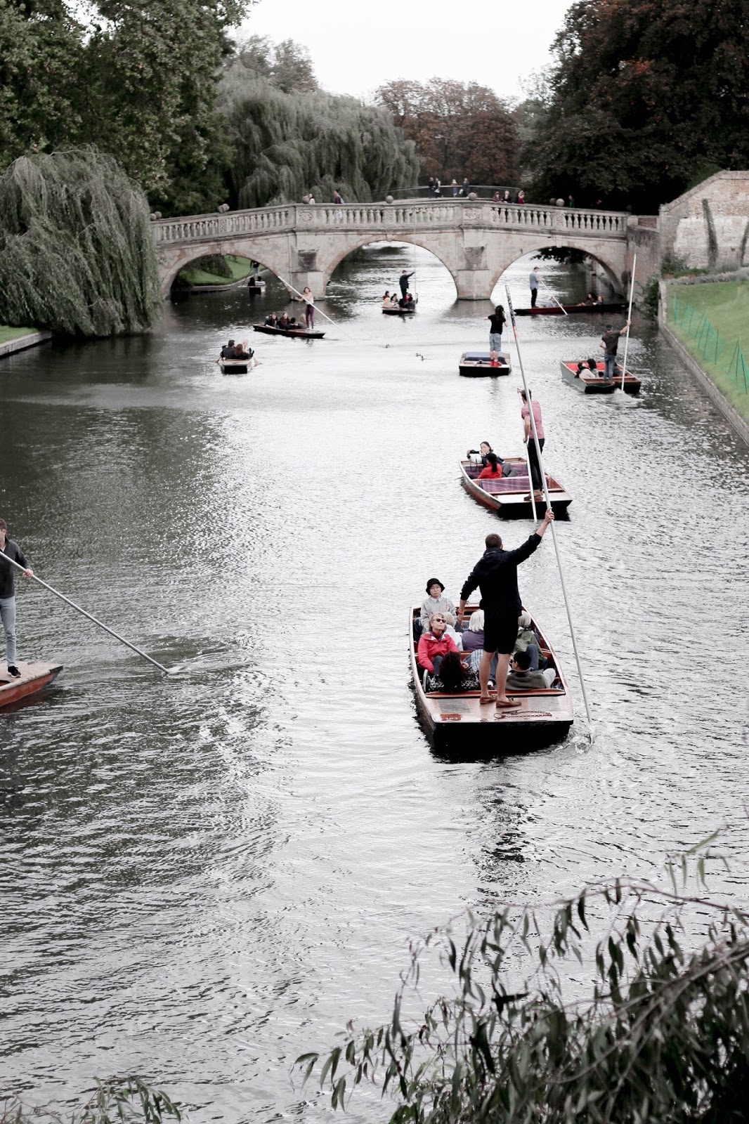 River Cam Punting in Cambridge