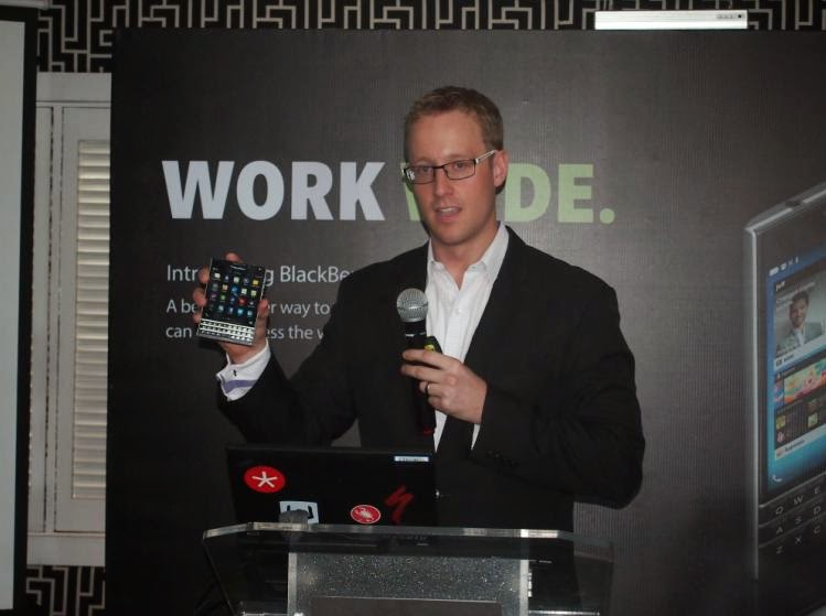 BlackBerry Unveils the BlackBerry Passport in the Country, Yours for Php35,790