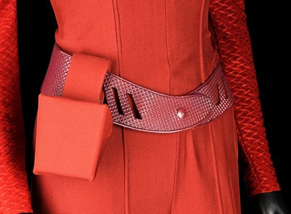 Star Trek DS9 Major Kira costume belt detail