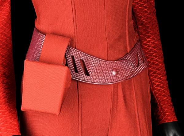 Star Trek DS9 Major Kira costume belt detail