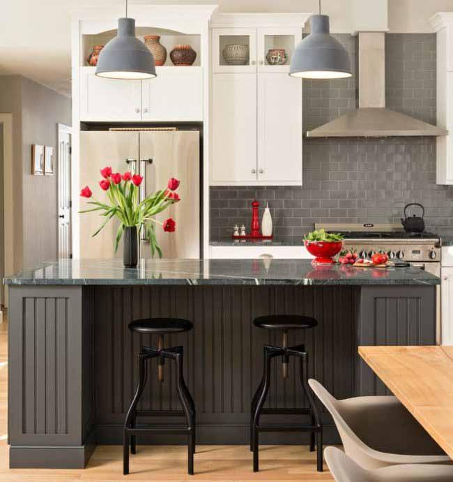 30 Modern Kitchen Design Ideas: 30 Ways To Make Gray Kitchen Cabinets